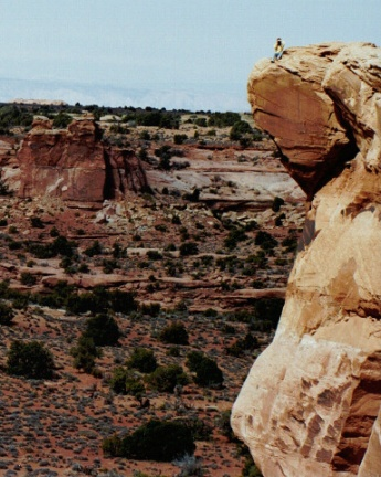 A Peak in Canyonlands
