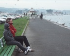Barb and Michael on a peer in San Fransisco 1997 two