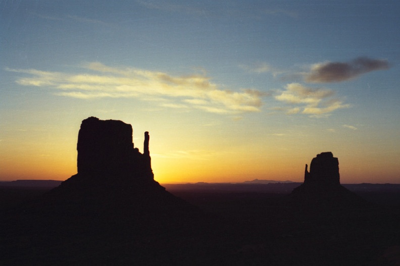 Monument Valley sunrise buttes.jpg