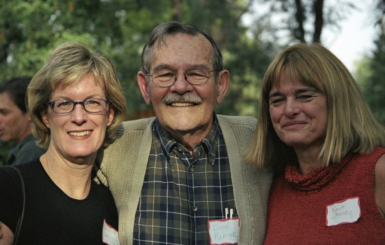 Dave Manter, Diane Carlton and Barb Jacobi, 2003