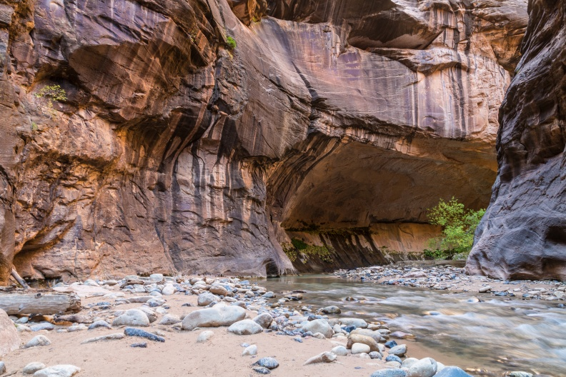 The Narrows of the Virgin River, Zion National Park