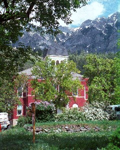 Ouray County Courthouse.